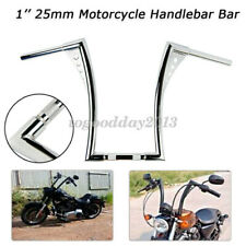 "Universal King Apes Ape Hanger Motorcycle Handlebars 1"" Bar Chrome For Harley"