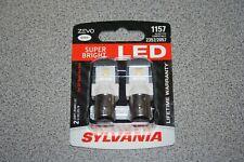 Sylvania ZEVO LED 1157 Pair Set LED Lamps Bulbs 2357/2057 NEW