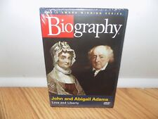 Biography: John  Abigail Adams - Love and Liberty (DVD, 2005) BRAND NEW, SEALED