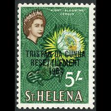 TRISTAN DA CUNHA 1963 Resettlement Ovpts. 5s Cereus Flower. SG 66. MNH. (WB917)