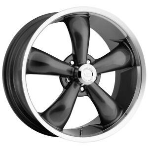 "Vision 142 Legend 5 18x8.5 5x120 +32mm Gunmetal Wheel Rim 18"" Inch"