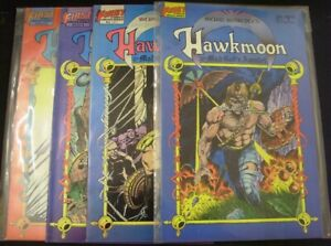 HAWKMOON MAD GOD'S AMULET 1-4 FIRST COMIC SET COMPLETE MICHAEK MOORCOCK 1987 VF-