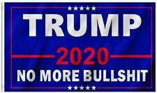 Donald Trump 2020-No More Bullshit-Flag President 3X5 FtKeep America Great Maga