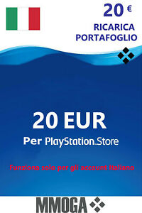 20€ EUR PSN Live Card f. Italien 20 Euro PlayStation Network Key Gutschein [IT]