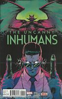 Uncanny Inhumans Comic 7 Cover A First Print 2016 Charles Soule Peterson Marvel
