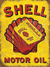 Shell Motor Oil, Retro Metal Sign, Garage, Shed, Man Cave