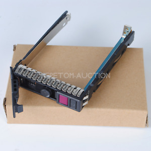 "2.5"" HDD Drive Tray Caddy for HP DL380 ML350 DL360 Gen10 NVMe Server 727695-001"