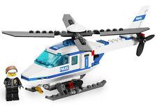 LEGO City Police Set 7741 Elicottero della polizia completo 2008 ADESIVI Tedesco