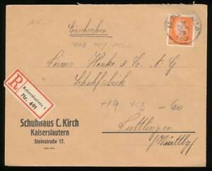 186259) DR EF Nr.419 auf R-Blg. aus Kaiserslautern 1