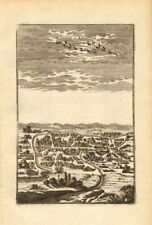 PERSIA (IRAN). View of the town of Ardabil. 'Ardeuil ou Ardebil'. MALLET 1683