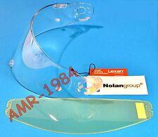 VISIERA ORIGINALE  NOLAN N90 N91 CLEAR + VISIERINA INTERNA ANTIFOG  SPAVIS203