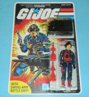 *RECARDED* 1984 GI Joe Cobra Scrap Iron v1 Figure Complete CUSTOM File Card Back
