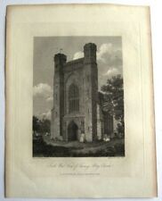 South West View of Thorney Abbey Church (published May 4th, 1808)
