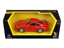 1996 PORSCHE 911 TURBO RED 1/43 DIECAST MODEL CAR BY ROAD SIGNATURE 94219