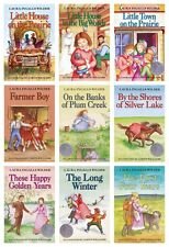 NEW Little House on the Prairie Set of 9 books Laura Ingalls Wilder Farmer Boy
