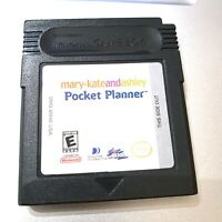 Mary-Kate And Ashley: Pocket Planner GAMEBOY COLOR Game Tested + Working!