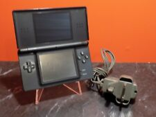 Nintendo DS Lite Black Console with Charger PAL L110