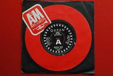 """QUEEN FAT BICYCLE RACE/BOTTOMED GIRLS 1978 RARE UK PROMO 7"""""""