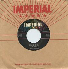 Rare Rock 'n Roll 45 - Merle Kilgore - Hang Doll - Imperial # X5555