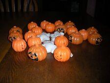 Halloween string light covers novelty Jack O Lantern, ghost, skeleton  lot of 24