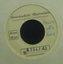 "7"" DIE MELODIAN SINGERS - mocca ala turca, classicals in melodie + parodie,Promo"