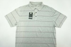 NEW Linksoul Golf Polo Mens Size Large Chalk # LS1141 260A  Shirt Clothing