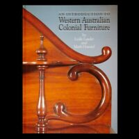 An Introduction to Western Australian colonial furniture (signed copy) JARRAH