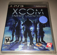 XCOM ENEMY UNKNOWN FOR SONY PS3 BRAND NEW Factory Sealed