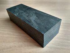 Black bog oak (morta wood) blanks for knife handles 35*50*135