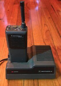 MOTOROLA MT1000 VHF 146-162MHz 16CH Charger Remote Mic NMN6156B NTN4633C Rapid