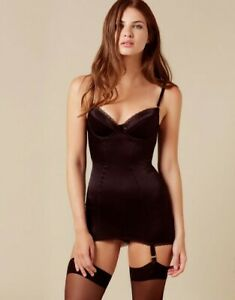 Agent Provocateur Black Felinda Slip size AP4 Brand New with Small Defect