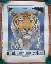 Spirit of Memphis 1986 Litho Print Jerald Shindledecker Tigers Tn Ball Sports