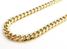 14K Gold Miami Cuban Chain 24 Inches 7.5MM 37.4 Grams