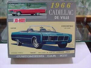 1/24 Johan Cadillac De Ville Convertible Box and Custom Version Parts