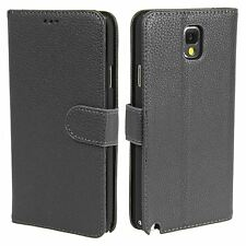 Madcase Premium PU Litchi Leather Wallet Case Cover For Samsung Galaxy Note 4
