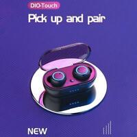 TWS Bluetooth 5.0 Earbuds True Wireless Stereo Headphones Mini Headset Earphones