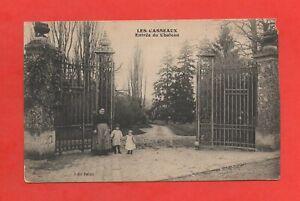 Limours - Los Casseaux - Entrada Del Castillo (K4203)