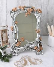 Handspiegel Dame Spiegel Kosmetikspiegel Frisierspiegel antik Stil hand mirror Antyki i Sztuka