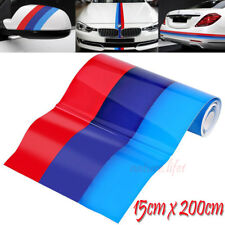 M-Colored Auto Streifen Stripes Flagge Aufkleber Sticker Motorhaube für BMW 2M U