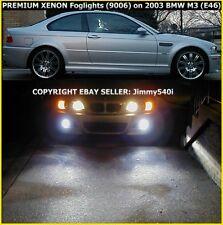 PREMIUM XENON FOGLIGHTS E46 BMW 330,330i,325,325i (03 /04) by- - - Jimmy540i.com