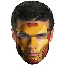 Marvel Heroes Official Licensed Gameface Iron Man Mask Face Transfer