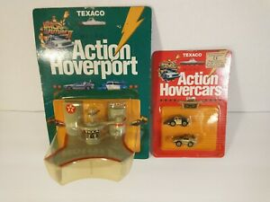 BACK TO THE FUTURE II MICRO TEXACO ACTION HOVERPORT & HOVERCARS NIP 1989