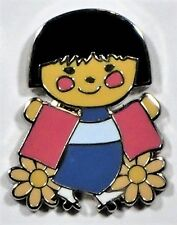 Disney Its A Small World Mystery Box Collection Little Girl From Japan Pin NEW