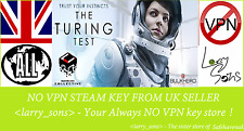 The Turing Test  Steam key NO VPN Region Free UK Seller