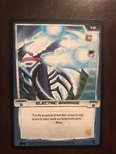 2012 Monsuno Trading Card Game #101 - Electric Barrage -  (Common)