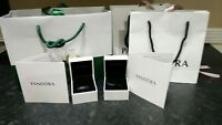 Pandora Genuine Charm / Ring Boxes Gift Bags and Ribbons - (Empty)