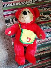 Meridian Broadcasting Teddy Bears TV Series Red William Soft Toy Plush Jointed