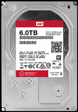 WD Red Pro 6TB 3.5-Inch SATA III 7200rpm 128MB Cache NAS Internal Hard Drive