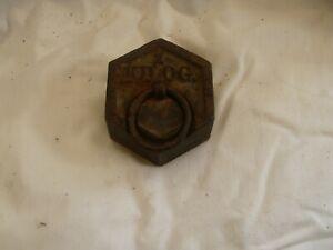 ANCIEN POIDS DE 1 KILO G.
