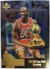 1996 SP Jordan Collection JC5 Michael Jordan, Rare Gold Foil Insert, Sharp!